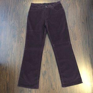 Calvin Klein jeans corduroy boot cut pants size 12